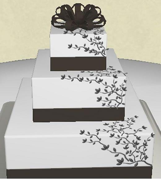 Design Your Own Wedding Cake: Design Your Own Virtual Cake
