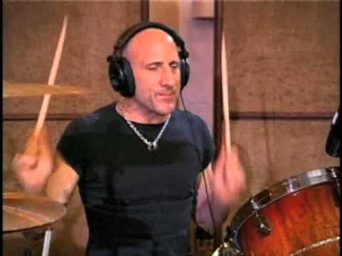 "Kenny Aronoff session for Jon Peter Lewis ""Now That I'm Kneeling"""