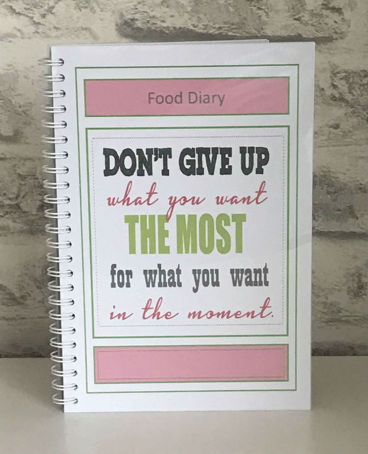 3 Mth Diet Food Diary Slimming World Compatible Tracker Journal Book -BK 1