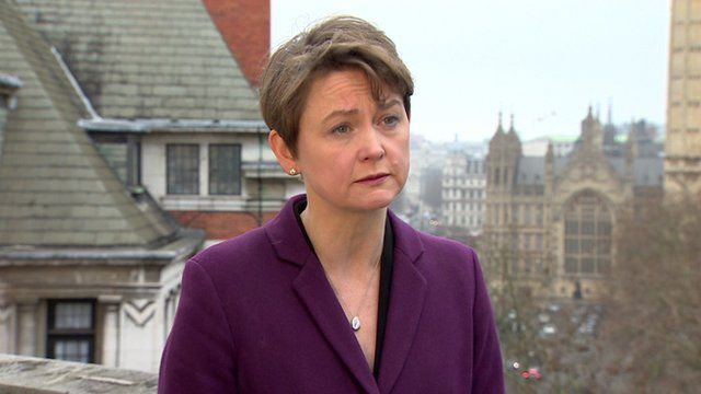 "Yvette Cooper says that the government erred in making ""grand promises that are now in tatters"" over net migration."