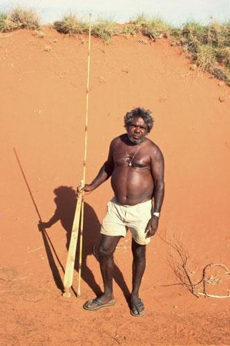 Jimmy Pike Great Sandy Desert Western Australia Courtesy Pat Lowe Jimmy Pike Trust