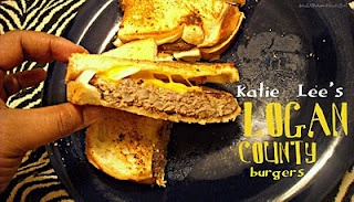 Katie Lee's Logan County Burgers - It's a grilled cheese with a ...