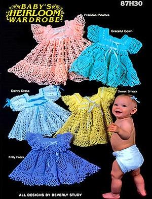 La biblioteca de manualidades: Baby's heirloom wardrobe