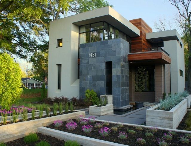 Best 25 small modern houses ideas on pinterest modern for Exterior design of small houses