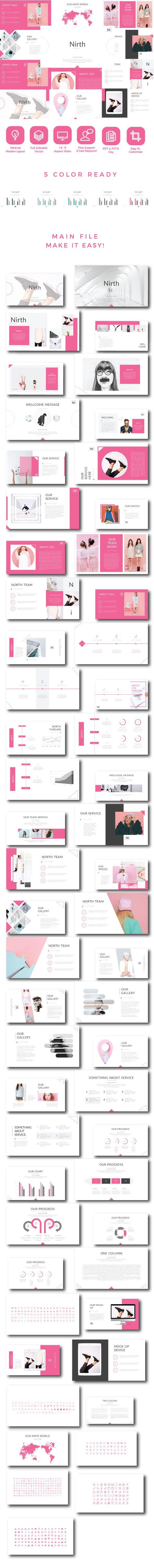 Nirth - Creative Keynote - Creative Keynote Templates