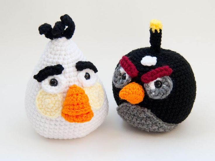 Tutorial Amigurumi Angry Bird : Best crochet obsessed ✿ angry birds images