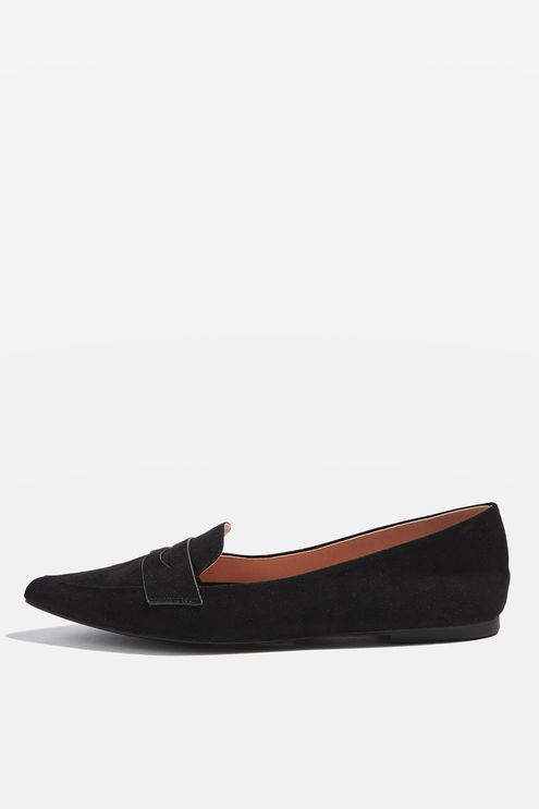 VIVA Pointed Softy Loafers
