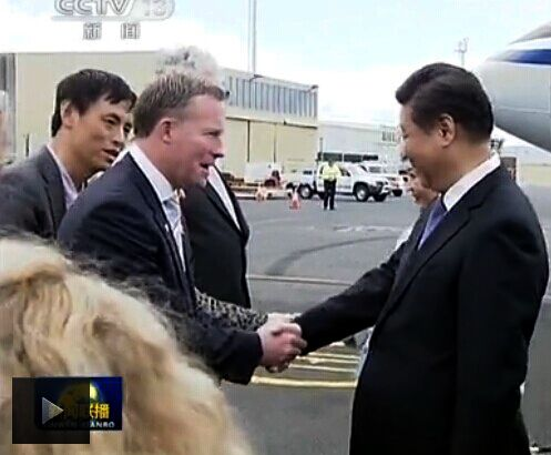 Welcome to Tasmania by the Premier with Charles Qin Mandarin Translator