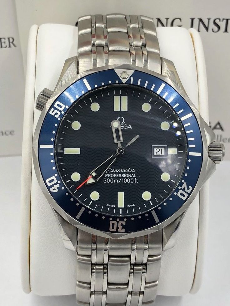 Omega Seamaster 300 M Quartz 41mm Mens Watch 2541.80.00 #OMEGA