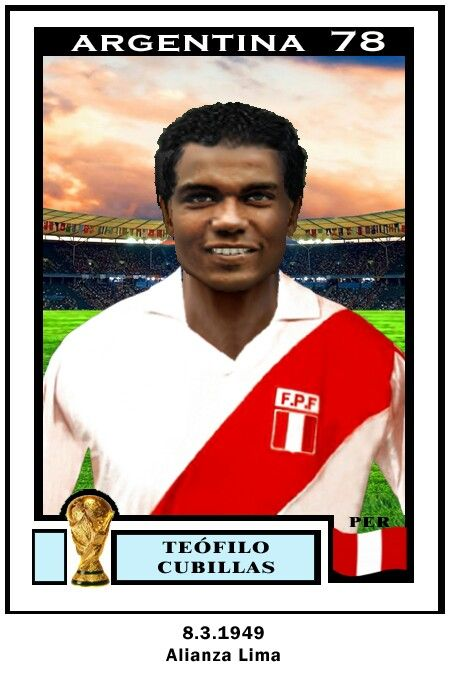 Teofilo Cubillas or Peru. 1978 World Cup Finals.
