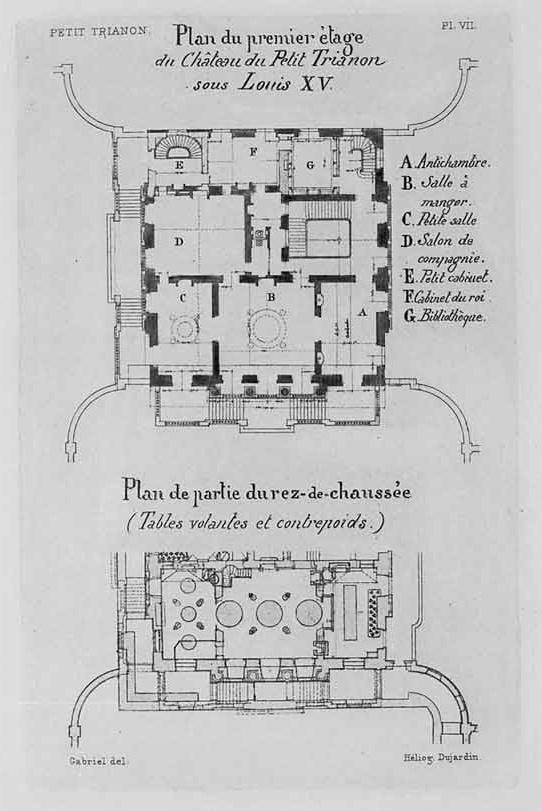 Le Petit Trianon, Versailles, France, 1768 - Ange-Jaques Gabriel
