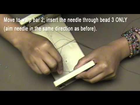 Versa-Loom Part 2, Easy Loom Bracelet Tutorial    www.thecreativefringe.com  The Creative Fringe