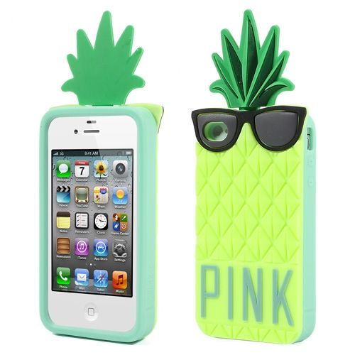 Gaaf trendy ananas hoesje voor de iPhone 5 en 5S. -