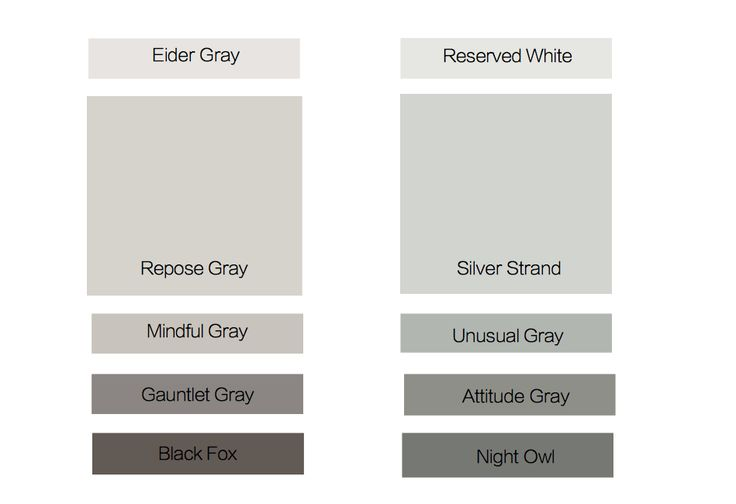 Repose Gray Vs Silver Strand For The Home Pinterest
