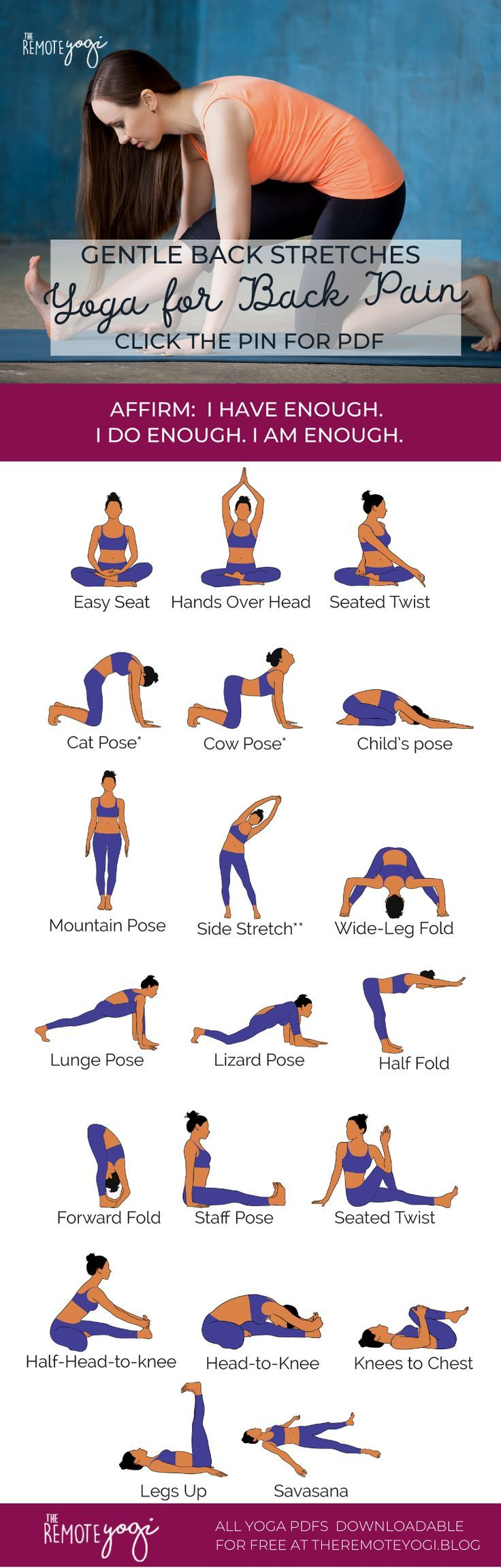 18+ Yoga poses printable pdf ideas