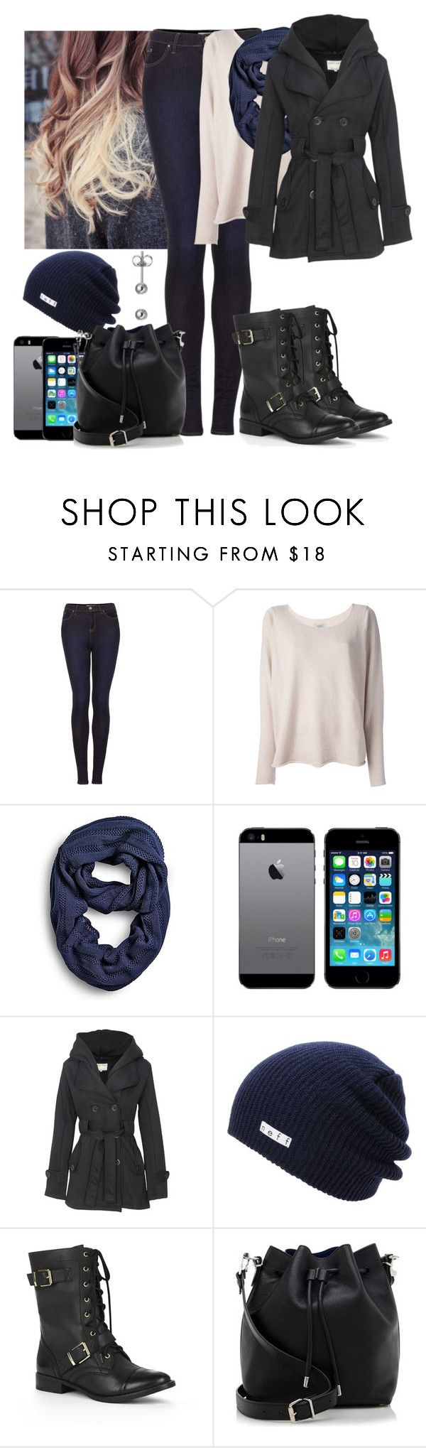 """Sem título #1146"" by esther-rosa ❤ liked on Polyvore featuring Topshop, Hunkydory, Sperry, Neff, Sole Society and Proenza Schouler"