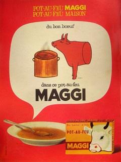 Savignac Maggi by Galerie Montmartre, via Flickr
