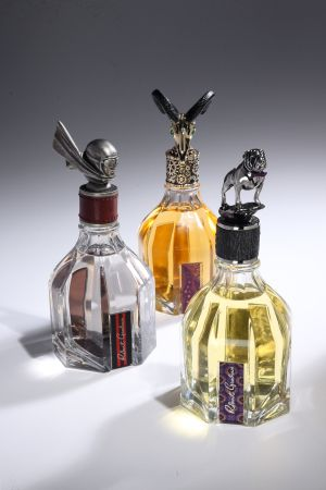 Mixing the whimsical with the unorthodox to create a trio of upscale Robert Graham scents.