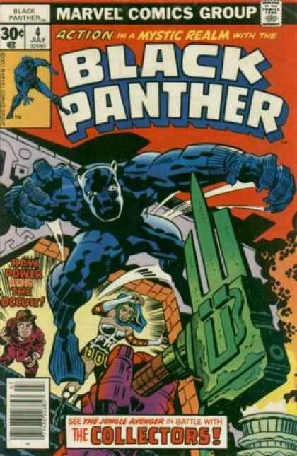 Black Panther #4; Marvel (July 1977)/Cover by Jack Kirby