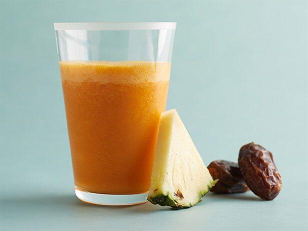 Smoothie de Cenoura e Abacaxi - Food Network