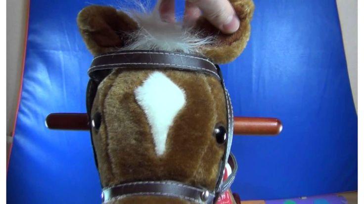 Игрушечная лошадка. En ruso