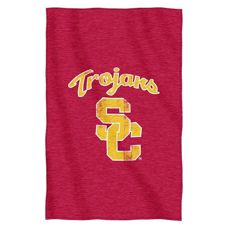 The Northwest Company, LLC Collegiate Sweatshirt Throw by Northwest - University of Southern California