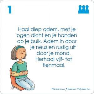 Onderwijs : Wiebelen en friemelen hulpkaarten
