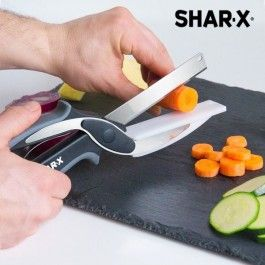 Blade & Board Saks-Kniv med Integrert Skjærebrett, Shar-X