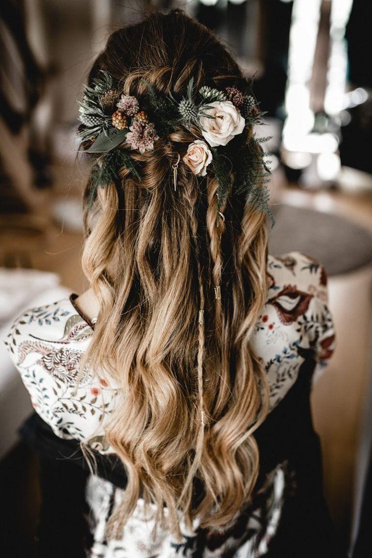 Die 18 besten Ideen zu Haarblumen in 18   haarblumen, haare ...