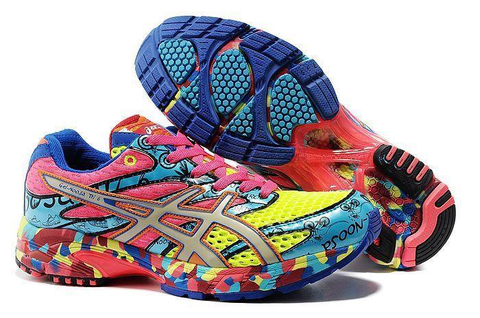 Asics Gel Noosa TRI 6 Classic Womens Running Camo Shoes