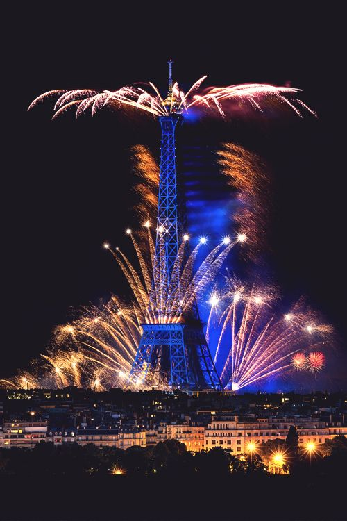 bastille day eiffel tower concert