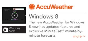 AccuWeather for Windows 8