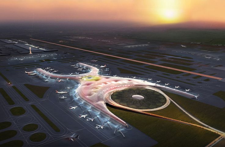 mexico city airport by foster + partners and fernando romero