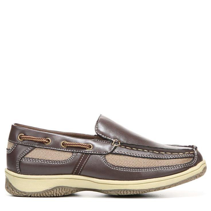 Deer Stags Kids' Pal Slip On Pre/Grade School Shoes (Dark Brown) | Shoes,  Deer and Brown