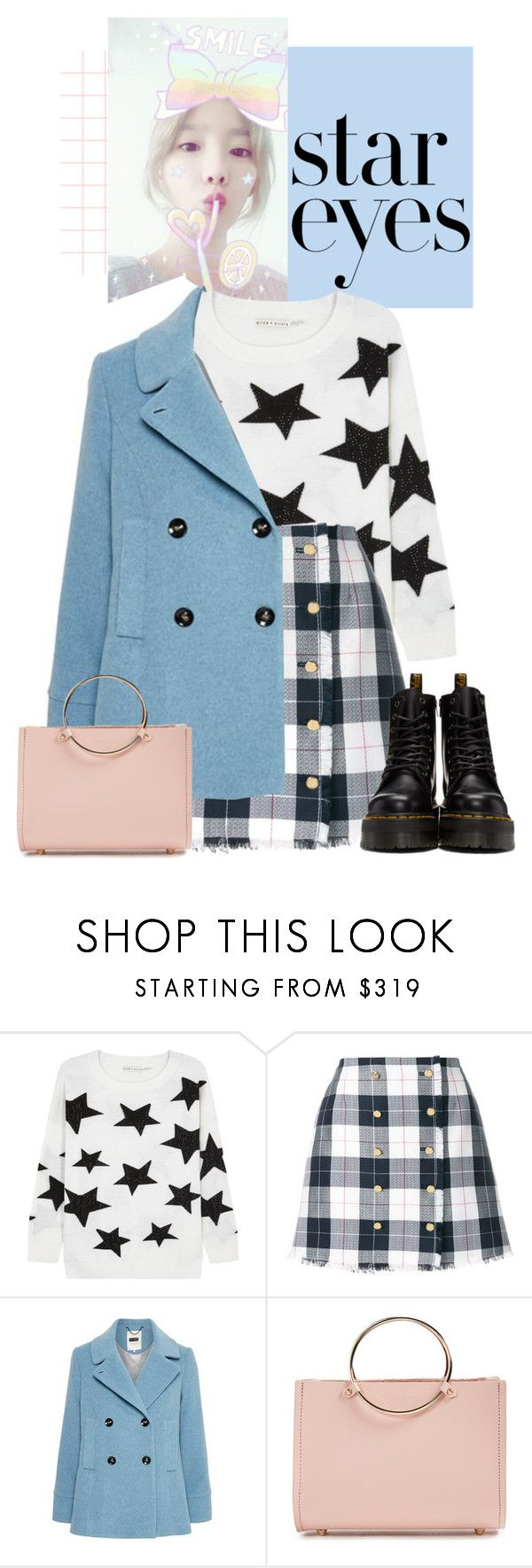 """""""Twinkle, Twinkle: Star Outfits"""" by kts-desilva ❤ liked on Polyvore featuring Alice + Olivia, Thom Browne, Future Glory Co., Dr. Martens and StarOutfits"""