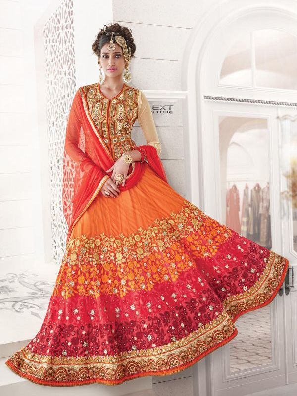 Indian Bridal Lehenga Choli Trend 2016