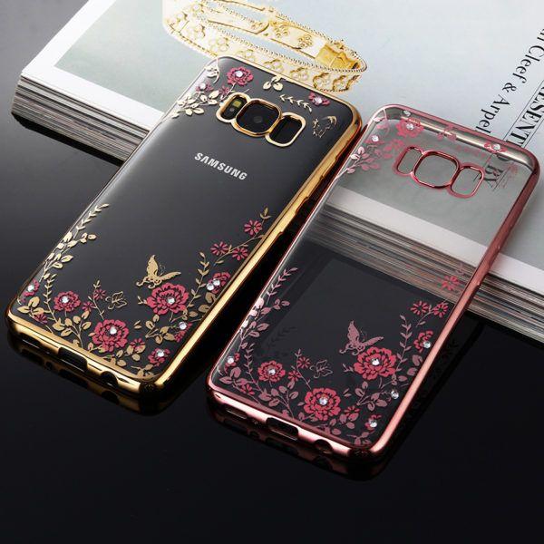 Samsung Galaxy S8 Chrome Framed Cases Retailite Samsung Phone Samsung Galaxy Phone Covers