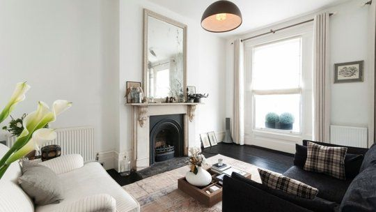 Notting Hill Victorian Flat.  Well, it's settled.  I am moving to London and taking over this apartment.  We cannot be apart any longer.