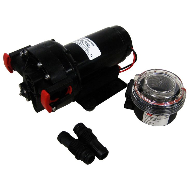 Professional Grade Pumps - Water Pressure Pump 12V 40PSI 3.8LPM/1.0GPM.