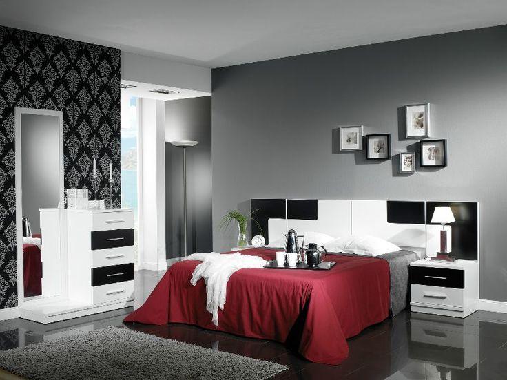 Cortinas modernas para dormitorios matrimoniales buscar for Juego de habitacion moderno