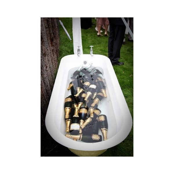 Champagne Tub found on Polyvore