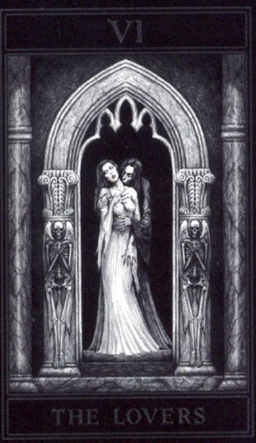 Gothic Tarot (Joseph vargo) - The Lovers