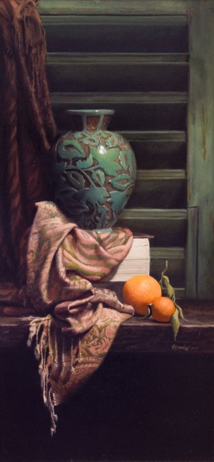 Mark Cummings. Vaso Bello. Oil on canvas.