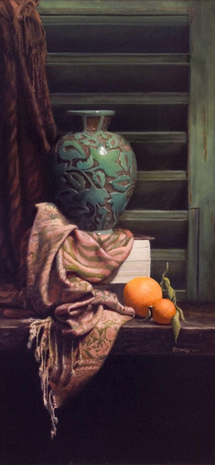 Mark Cummings. Vaso Bello. Oil on canvas.                                                                                                                                                      More