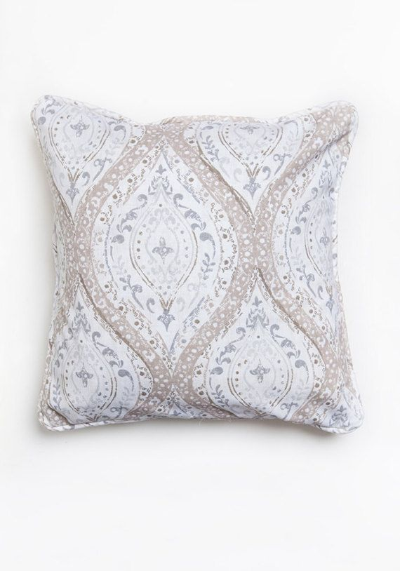 Neutral Pillow Cover, Beige Grey, Pillow Cover, Neutral Pillow, beige, ivory, gray, living room pillow, Neutral Decor, Living Room Decor