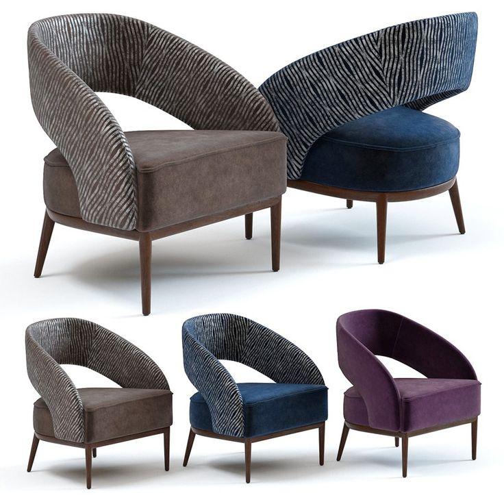 Model 3d Vision Armchair Soft furniture, Chair, Armchair