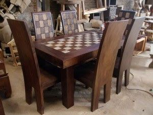 Mebel dan Furniture Jepara: Dinning Table Antiq