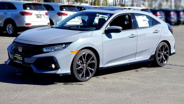2019 Civic Sport Touring Hatch FIRST LOOK. Honda civic