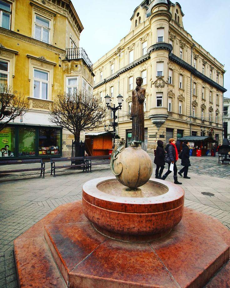 Baross Street, Győr, Hungary ❄  #canoneos70d   #ig_hun   #ikozosseg   #mik   #mik_tel   #ig_magyarorszag   #instahunig   #travelhungary   #loves_hungary   #Gy őr  #ig_worldclub   #thebest_ofbest   #streetphotography   #city_explore   #ilovegyor   #ig_hungary   #lovelycity   #photooftheday   #photowall   #ig_street   #architecturelovers   #architecture