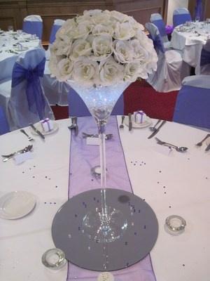 cute wedding table topper